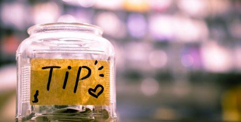 money tip