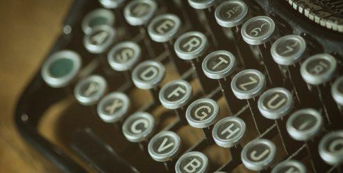 vintage letters typo vintage typewriter 101710
