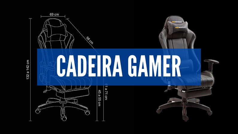 cadeira gamer pro
