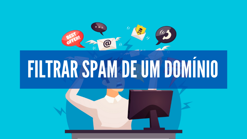filtrar spam de um dominio