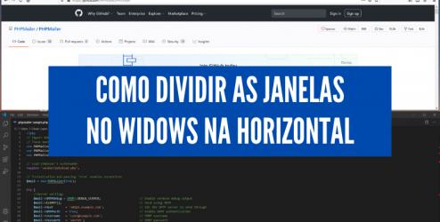 windows dividir janela