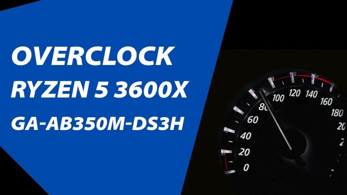 overclock ryzen5 3600x